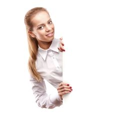 Free Young Business Woman Stock Photography - 21831982