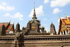 Grand Palace Bangkok Royalty Free Stock Photography