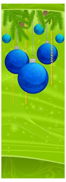 Free Christmas Balls Royalty Free Stock Photography - 21835327