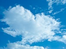 Free The Cloud With Blue Sky Royalty Free Stock Images - 21835899