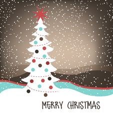 Free Christmas Background Royalty Free Stock Images - 21839229