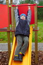 Free Happy Smiling Child In Playground Vertical Stock Photo - 21840540
