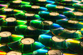 Free Shiny Cd Discs Lie On Each Other And Shine Royalty Free Stock Images - 21846739
