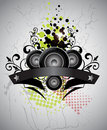 Free Music Background Banner Royalty Free Stock Photos - 21849378