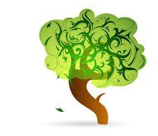 Free Summer Tree Royalty Free Stock Image - 21840066