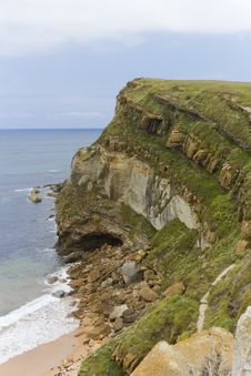 Free Views Of Cliffs And Beaches Royalty Free Stock Images - 21841509