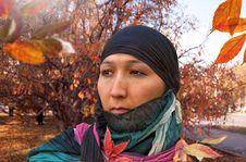 Free Kazakh Woman. Stock Images - 21841684