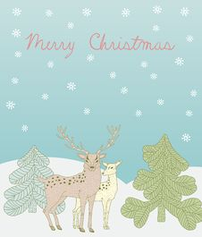 Free Christmas Card Stock Photo - 21841950