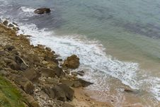 Free Views Of Cliffs And Beaches Royalty Free Stock Image - 21841966