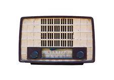 Free Old Radio Isolated Stock Photo - 21844020
