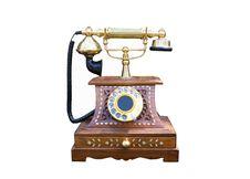 Free Vintage Gold Telephone Stock Photos - 21844203