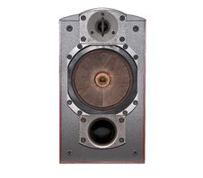 Closeup Big Speaker Stock Photo