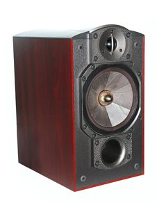 Free Closeup Expensive Hi-fi Speaker Royalty Free Stock Image - 21844576