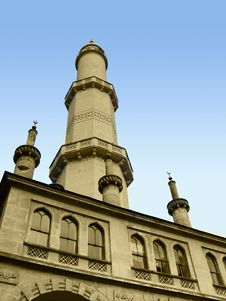 Free Minaret Royalty Free Stock Photo - 21845295