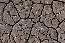 Free Dry Cracked Earth Stock Photography - 21846812