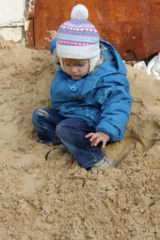 Free Jumping Child Stock Image - 21847631