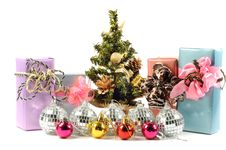 Free Christmas Gifts And Decoration Stock Image - 21849111