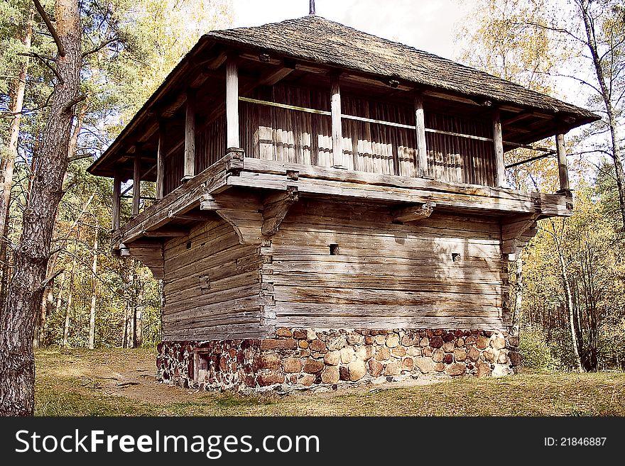 Old wood Farmhouse