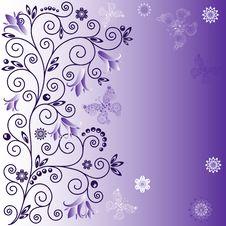 Free Gentle Violet Background Stock Image - 21855071
