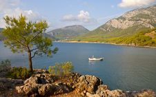 Free Mediterranean Coast Royalty Free Stock Photo - 21855245