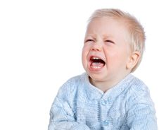 Free Crying Baby Isolated Stock Images - 21855344