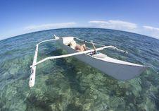 Free Small Catamaran At The Beach Stock Image - 21856661