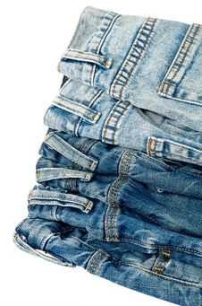 Free Blue Jeans Royalty Free Stock Images - 21857019