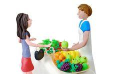 Free Plasticine Scene Stock Image - 21858281