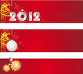 Free Congratulatory Banner On The New Year And Merry Ch Stock Photo - 21864580