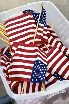 Free Flag Bucket Royalty Free Stock Photo - 21862985