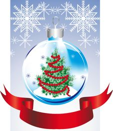 Free Christmas Toy With Herringbone Stock Image - 21864931