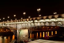 Free Bridge With Illumination Royalty Free Stock Photos - 21865548