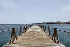 Free Arrieta Pier Royalty Free Stock Photos - 21867678