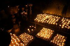 Free Prayer Lamps Stock Photos - 21869593