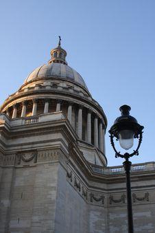 Free Pantheon Of Paris Royalty Free Stock Photo - 21869775