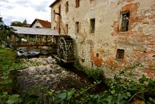 Free Old Water Mill Stock Photo - 21869850