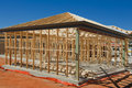 Free New Home Construction Framing. Stock Photography - 21871472