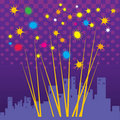 Free Abstract Fireworks Stock Photography - 21871792
