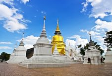 Buddhist Temples In Thailand. Royalty Free Stock Photos