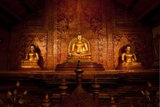 Free Golden Buddha. Stock Photos - 21870773