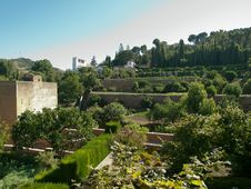 Free Alhambra-Spain Royalty Free Stock Photos - 21871608