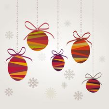 Free Christmas Balls Stock Photography - 21872012