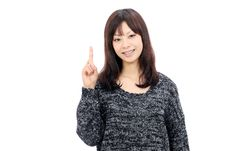 Free Smiling Asian Woman Royalty Free Stock Photography - 21872997
