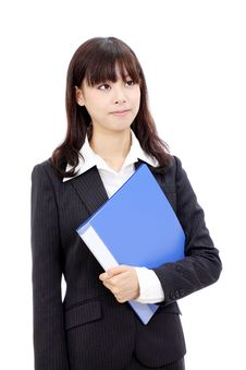 Free Young Asian Business Woman Royalty Free Stock Photography - 21873207