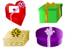 Free Presents Set Royalty Free Stock Images - 21873839