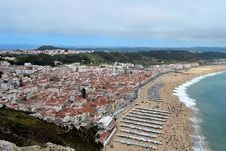 Free Nazaré In Portugal Royalty Free Stock Image - 21874686