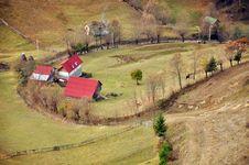 Mountain Property Cottage Stock Photo