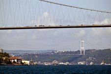 Free Bosporus Bridges Royalty Free Stock Image - 21882256