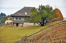Free Rural Transylvania House Stock Photography - 21882372