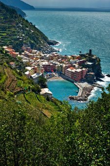 Free Vernazza, Cinque Terre, Italy Royalty Free Stock Image - 21882796